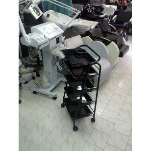 Стоманена фризьорска количка
