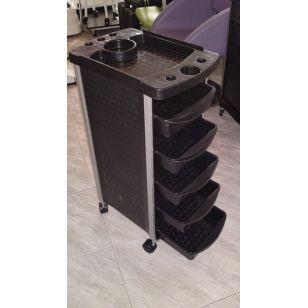Професионална работна количка за фризьори