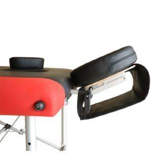 Двуцветна алуминиева масажна кушетка