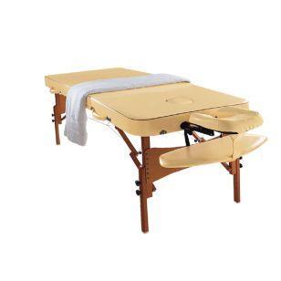 Дървена масажна кушетка