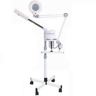Пароозонатор и лампа лупа 2в1