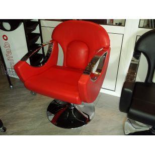 Стилен фризьорски стол с хидравличен крик